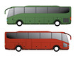 Tourist bus design with single axle - 81550047