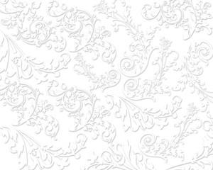 Elegant floral textures background