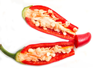red hot peppers