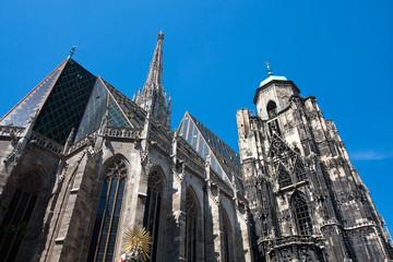 St. Stephans cathedral in Vienna, Austria.