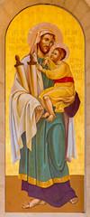 Bethlehem - icon of st. Joseph in St. Catharine church