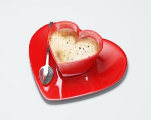 Tazza caffè cuore
