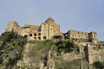 Aragonese Castle on Ischia Island
