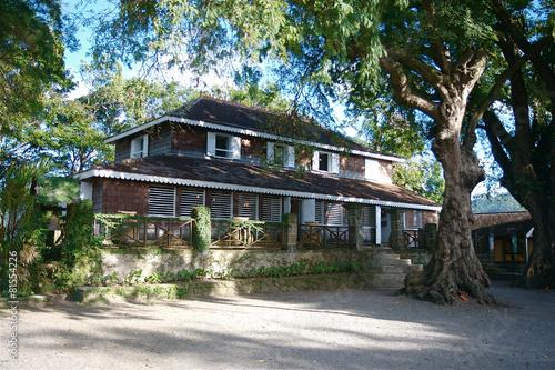 Fotobehang Caraïben Martinique Habitation Clement Caribbean 05
