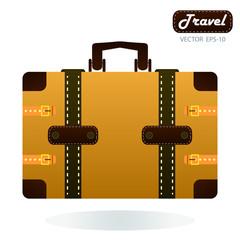 travel around the world over white background vector illustratio