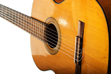 The old classical guitar