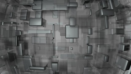 metal and glass background