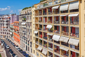 Residential complex in Nice, France.