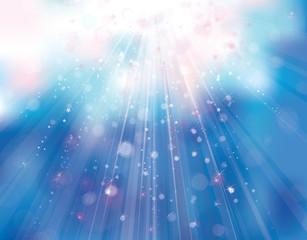Vector sky sparkle background.