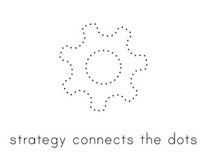Illustration about the concept of strategy