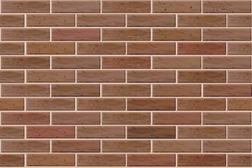 Vector seamless brick wall.