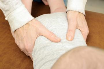 Osteopathie bei Baby