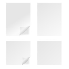 Four White Pages - Illustration