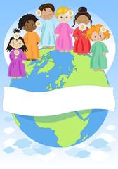 Bambini del Mondo - con banner
