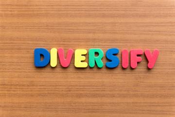 diversify