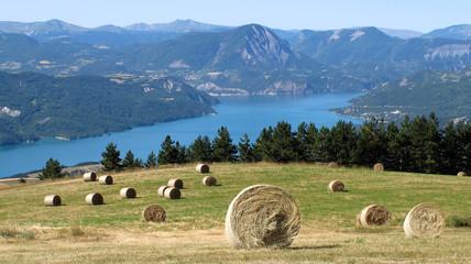 Lac de Serre-Ponçon - Hautes-Alpes