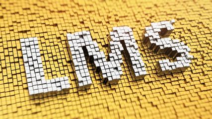 Pixelated LMS