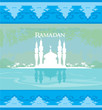 stylish ramadan kareem card