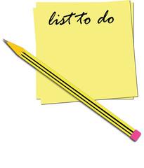 Illustrazione lista cose da fare
