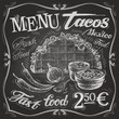 Mexican food logo design template. tacos, burritos or menu board - 81566005
