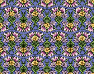 crocuses wallpaper