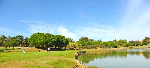 Campo de Golf, jugadores, España