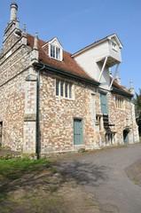 Bourne Mill Colchester Essex in portrait aspect