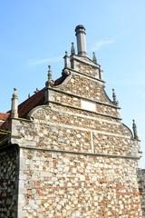Spectacular Elizabethan gable end