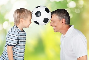 Father. Father And Son - Playing