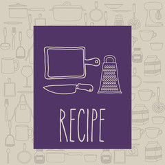 Cook icon design