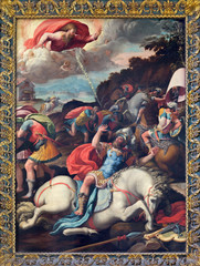 Rome - Conversion of st. Paul painting - Santo Spirito in Sassia