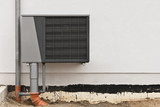 Luft-Wasser-Wärmepumpe - Klimaanlage - Ausseneinheit - Neubau
