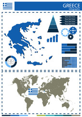 vector Greece illustration country nation national culture conce