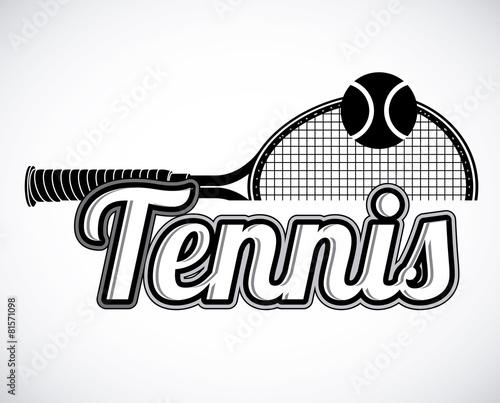 Fototapeta Tennis design