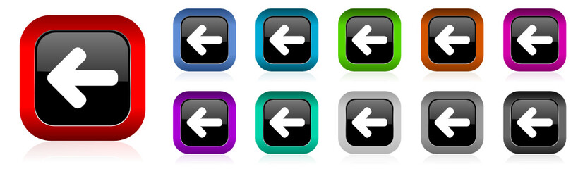 arrow vetor icon set