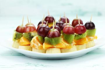 owocowe wykałaczki
