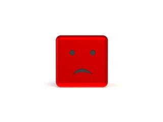 Smiley 3d dice
