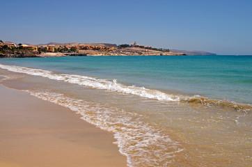 Beach in Costa Calma, Canary Island Fuerteventura