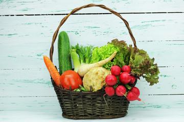 kosz warzyw