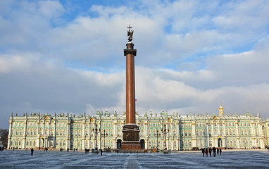 The famous Palace Square