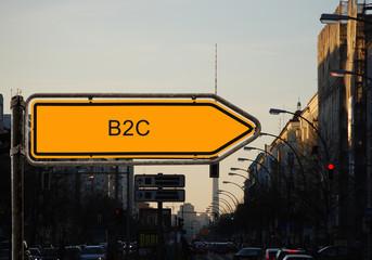 Strassenschild 37 - B2C