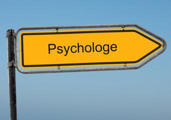 Strassenschild 38 - Psychologe