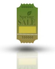 Spring Sale - Ticket