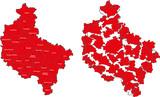 Map of the Wielkopolska region - 81572879