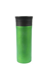 Thermos  isolated on white background