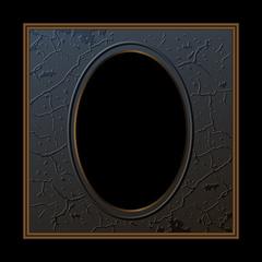 dark vintage frame