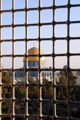 Mosque View thru Medrese Window