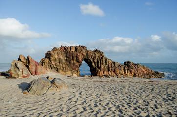 Pedra Furada - Jericoacoara beach