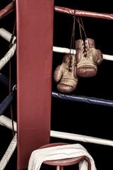 Boxing ring corner