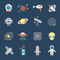 Fiction Icon Set